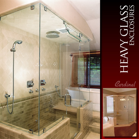 Cardinal Shower Enclosures is the leader in heavy glass units. From simple single swing doors and sliders to custom designed multi-panel units with notched ... & Product Offerings - HMi Cardinal Dealer Tools